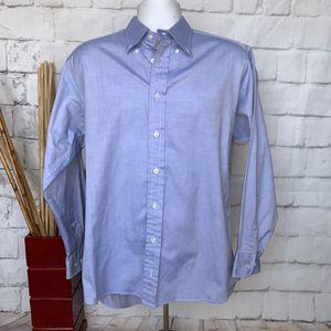 Burberry Button Down Shirt Blue Mens Size 16R for Sale in Santa Clarita, CA