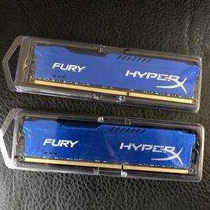 HyperX Fury DDR3 HX318C10F/8 RAM Each for Sale in Louisville, KY