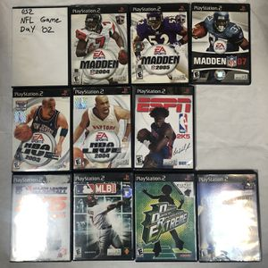 PS2 11 Game LOT Used for Sale in Miami, FL