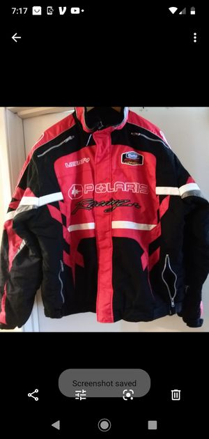 POLARIS SNOWMOBILE RASING MEN'S JACKET for Sale in San Diego, CA