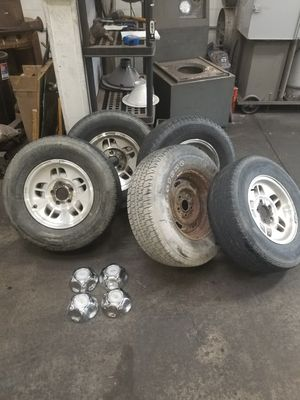 """14"""" ford ranger wheels plus spare $100 for Sale in Wood Dale, IL"""