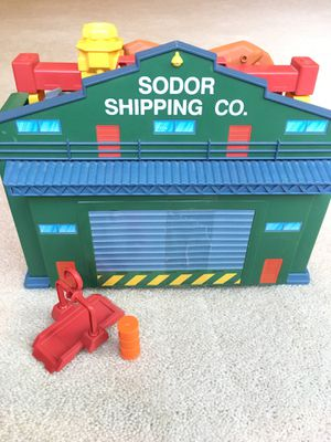 Thomas and Friends Take n Play Sodor Shipping Co. Playset toy train set for Sale in Woodstock, GA