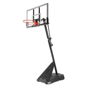 "54"" Acrylic Hercules Exactaheight Portable Hoop System For Home Outdoor Basketball for Sale in Santa Clarita, CA"