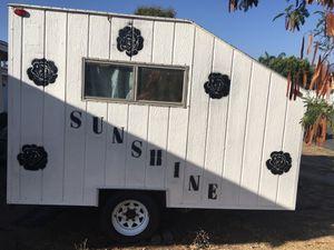 Utility trailer white good condition. for Sale in Rialto, CA