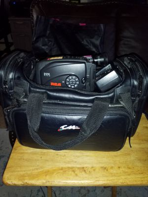 RCA CAMCORDER AND VIDEO WITH NEW BATTERY for Sale in Stockton, CA