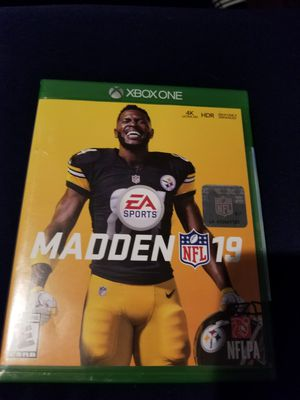 Madden 19 Xbox One for Sale in Fresno, CA