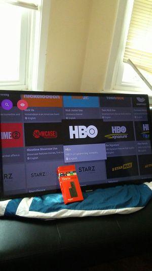 "40"" Samsung tv & Fire tv stick for Sale in Pawtucket, RI"