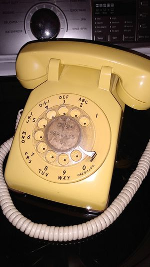 Vintage rotary telephone for Sale in San Diego, CA