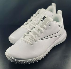 Nike Vapor Varsity Low Turf LAX Football Shoes 923492-110 Men's Size 7 for Sale in Los Angeles, CA