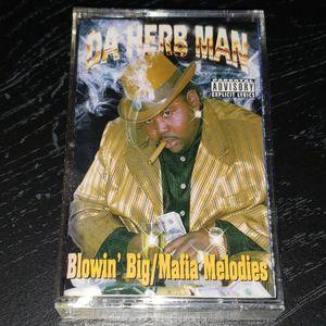 Da Herb Man Blowin Big texas Gangster Rap Cassette Tape for Sale in Apollo Beach, FL