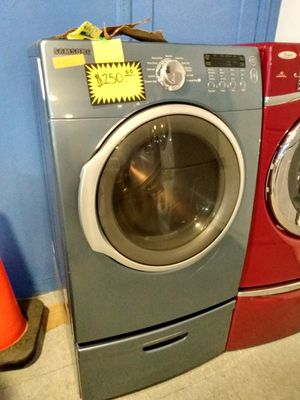 Samsung front load dryer working perfectly for Sale in Baltimore, MD