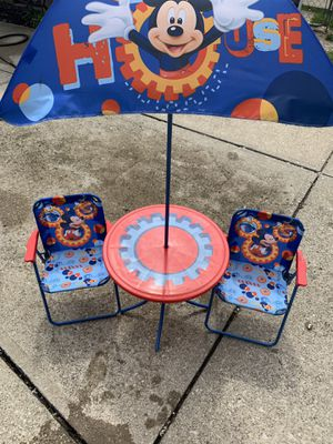 Kids mickey mouse table set for Sale in Middleburg Heights, OH