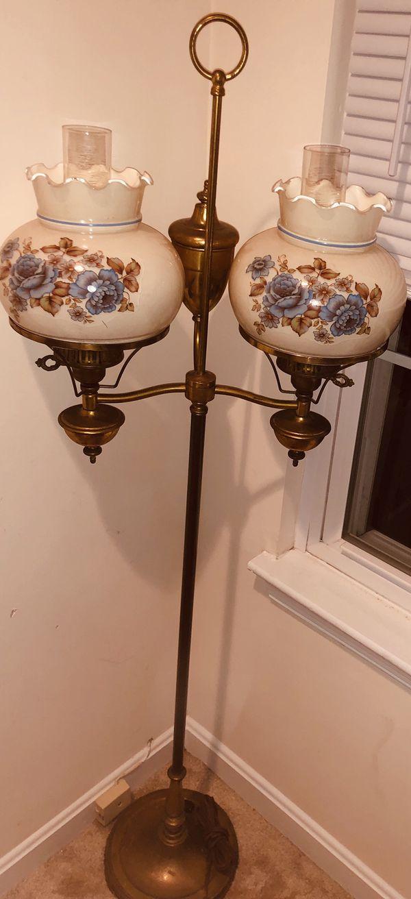Vintage Double Arm Floor Lamp