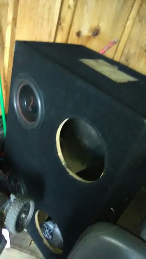 """4-12"""" Sub Box Vented for Sale in Columbus, OH"""