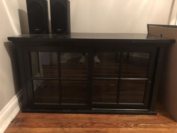 TV Entertainment Center from Pottery Barn - Used but good condition.