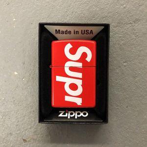 Supreme zippo lighter for Sale in Boston, MA