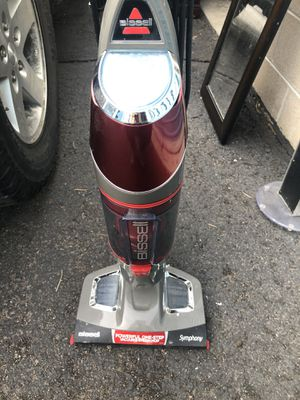"""BISSELL Symphony All-In-One Vacuum And Steam Mop - 11"""" Cleaning Width - 25 ft Cable Length for Sale in Centennial, CO"""