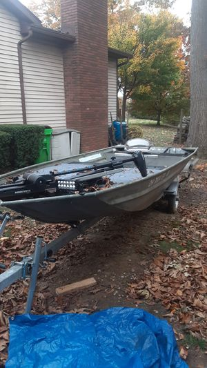 16 ft polar craft jon boat with yatchclub trailer. Negotiable for Sale in Norton, OH