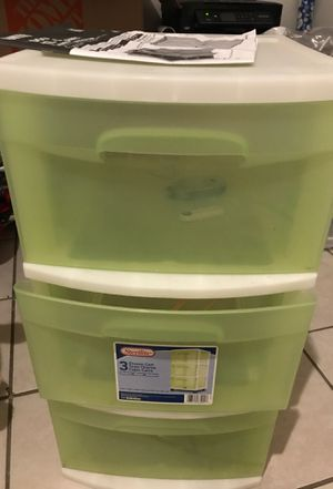 Storage plastic drawers for Sale in Fort Worth, TX