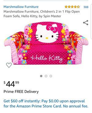 Hello kitty sofa bed for Sale in Clovis, CA