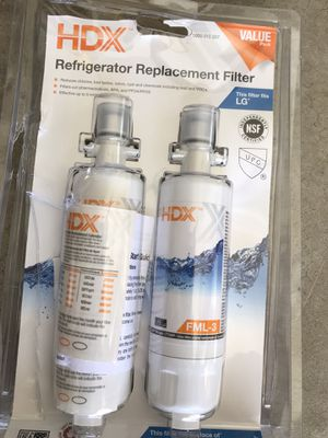 HDX FML-3 Refrigerator Replacement Filter LG LT700P for Sale in Newport Beach, CA