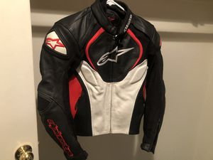 Alpinestars leather motorcycle jacket for Sale in Henderson, NV