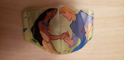 Disney Pocahontas Kids Face Mask Double Layer for Sale in Los Angeles,  CA