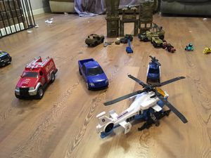 LOTS of boy toys! Must go! for Sale in Charlotte, NC