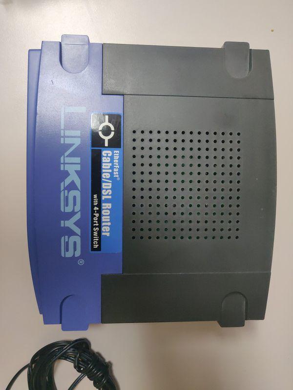 Linksys cable/dsl modem