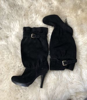 Michael Kors Boots - Size 6 - Black Suede for Sale in San Diego, CA