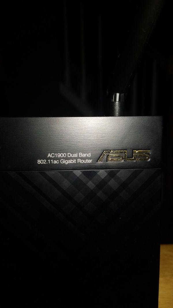 ASUS RT-AC68U Dual-Band Wireless-AC1900 Gigabit Wi-Fi Router