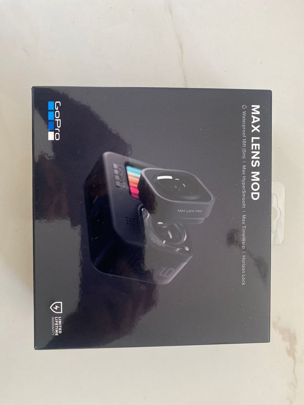 GoPro Max Lens Mod IN HAND - SOLD OUT - HERO 9