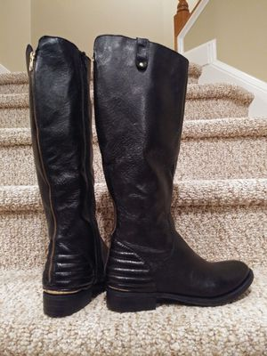 New Women's Size 8.5 Steve Madden Boots w/ 2 Zippers, Leather [Retail $150] for Sale in Woodbridge, VA