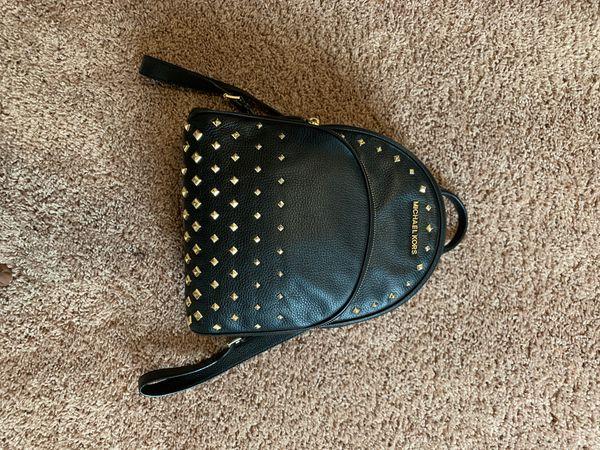 Michael Kors 100% Genuine Leather Backpack.