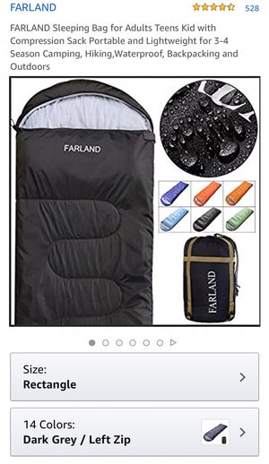 Farland sleeping bags brand new great for camping, hiking, all season sleeping bags for Sale in Eastvale, CA