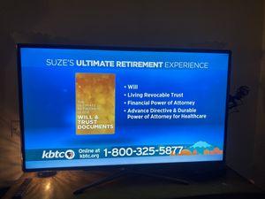 55 inch Samsung smart tv for Sale in Poulsbo, WA