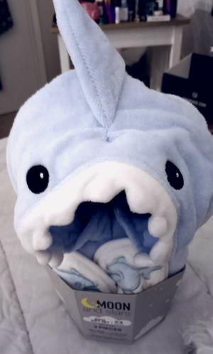 Baby Shark Bathrobe & Slippers for Sale in Bellevue, WA