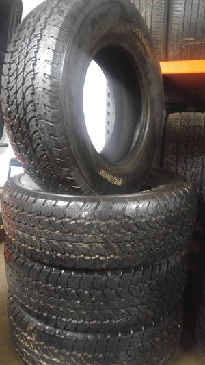 245/70/16 Fuzion tire set for Sale in Springfield, MA