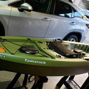Lifetime Tamarack Angler 10ft Fishing Kayak, Paddle Included for Sale in Hayward, CA