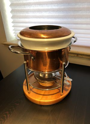 Copper fondue pot for Sale in Denver, CO