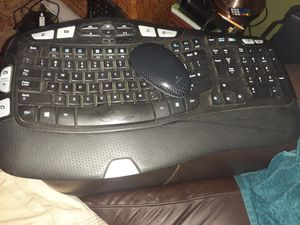 Wireless logitech keyboard and touch sensitive mouse for Sale in Charlotte, NC
