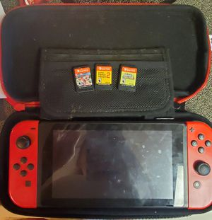 Nintendo Switch and games for Sale in Lafayette, LA