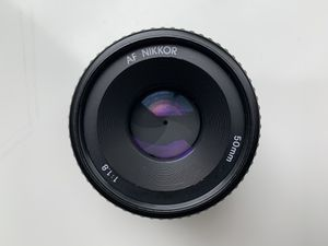 Nikon AF Nikkor 50mm f/1.8D Lens - Black for Sale in Redmond, WA