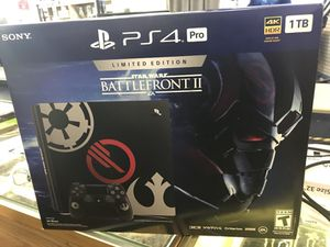 PS4 Pro Battlefront 2 Limited Edition (BRAND NEW) for Sale in Baltimore, MD