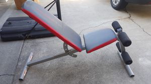 Weider 130 adjustable Weight Bench for Sale in Fullerton, CA