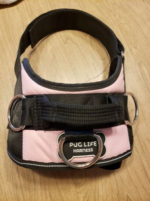 Size large pug life dog harness for Sale in Sherwood, OR