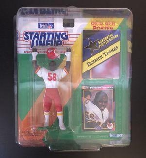 1992 Derrick Thomas KC Kansas City Chiefs NFL Football SLU Starting Lineup RC Rookie Action Figure - BRAND NEW! for Sale in Fair Oaks, CA