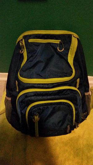 Green/Blue with gray backpack for Sale in Long Beach, MS