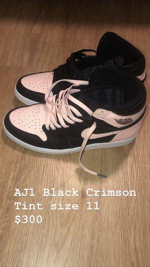 """AIR JORDAN 1 """"BLACK CRIMSON TINT"""" for Sale in San Jose, CA"""