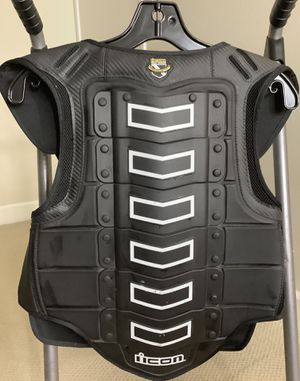 Motorcycle Vest Icon Field Armor Safety First for Sale in San Diego, CA